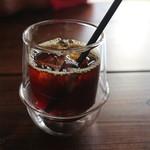 珈琲焙煎所 旅の音 - グァテマラのアイス