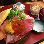 天磨 - 『大将の海鮮丼』1800円