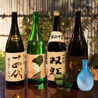 日本酒が自慢。お酒各種取り揃えております。