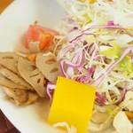 ナチュラルキッチン きらら - サラダ、レンコンの煮つけ、ゼリー