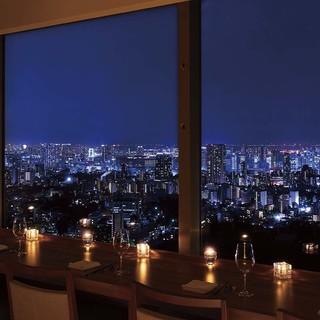 都内屈指の絶景スポット(恵比寿ガーデンプレイスタワー最上階)