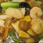 台湾料理 幸楽園 - こっちは五目麺