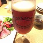 越後酒房 八海山 - 八海山ビール(843円税込)