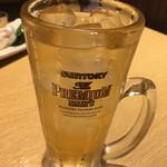 越後酒房 八海山 - 角ハイボール(530円税込)