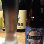 御八 - クラフトビールから北海道の流氷ドラフト(発泡酒)330ml1,000円!