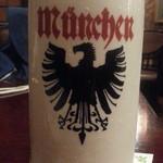 ミユンヘン - サッポロ生ビールの黒ラベルから中シュタイン910円