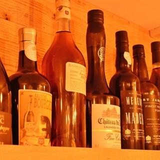美味しいシャンパンやワインメニューをリーズナブルなお値段で♪