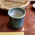 神通町 田村 - そば湯
