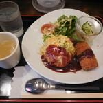 東京厨房 - プレートランチA