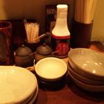 静岡駅南 ふじのくに酒場 轟屋 - テーブルセット