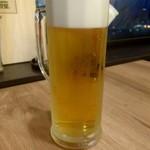 白金魚食堂 - 生ビール