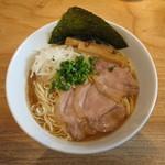 ソラノイロ ナゴヤ - 金の煮干し麺 麺大盛り