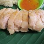 ちりばり - マレーシア鶏飯の蒸し鶏