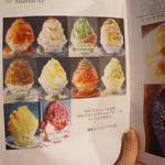 INITIAL - かき氷メニュー(2016/7)