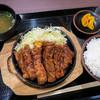 豚屋とん一 - 料理写真:「とんテキ定食」(890円+税)。素晴らしいッ!