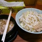 郎郎郎 - さぶろうつけ麺。