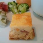 ブラッスリーオザミ丸の内 - キッシュ
