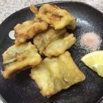 立ち呑み処 おかもと - 穴子の天ぷら