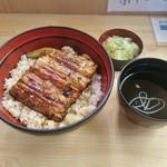 うな正 - うな丼(吸い物、お新香付) 980円