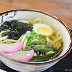 姫鶴荘 - 2017年7月 山菜うどん【600円】