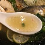 饗 くろ喜 - 重厚な旨味のスープ