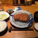豚組食堂 - ロースカツ御膳 165g