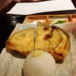 京都 天ぷら圓堂 - 京茄子
