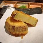 京都 天ぷら圓堂 - サツマイモ