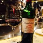 ahill - 赤ワインのグラスではこれが1番美味しい
