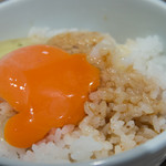 つけ麺 五ノ神製作所 - 玉子かけご飯