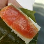 柿の葉すし本舗たなか なら本店 - 柿の葉寿司 さけ