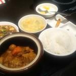 金香楼 - 食べログワンコインメニューの豚バラ肉の特製タレ壷煮