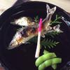 山陵汀 - 料理写真:鮎の塩焼き大、中