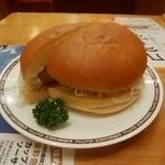 コメダ珈琲店 - コロッケバンズ