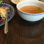 ロッサ キッチンカフェ - 料理写真:スープ