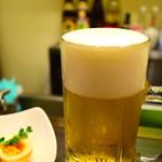菜香餃子房 - 生ビール@税込500円