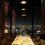 ラ・ソラシド フードリレーションレストラン - ディナータイム個室