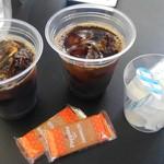 赤煉瓦カフェ ジャズ - アイスコーヒー