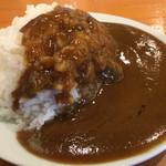 春日井ラーメン楽喜 - とんこつカレーライス(無料 食べ放題※ランチタイム限定) このカレー美味しいですね!