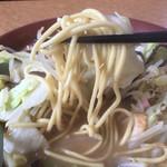 ポンチャン - ちゃんぽんの麺