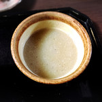 菊井 - そば湯はどろっとタイプ