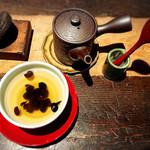 茶房 轤夢庵 - ドリンク写真:黒豆そば茶