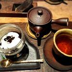 茶房 轤夢庵 - ほうじ茶