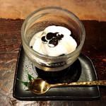 茶房 轤夢庵 - 黒蜜寒天
