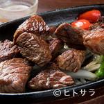 越後屋 - ボリュームたっぷり、九州和牛の旨みが詰まった『サイコロステーキ』