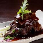 越後屋 - ほろほろの食感『牛ホホ肉の赤ワイン煮』