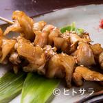 越後屋 - 気軽に牛肉の旨味が楽しめる人気の『牛すじ串(たれ焼き)』