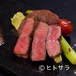きら里 - 厳選されたお肉のみを使用『黒毛和牛のステーキ』