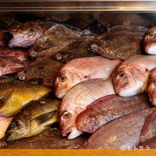 瀬戸内で採れた新鮮な魚や、滋味あふれる果物、野菜をご提供
