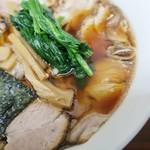 72214012 - 生姜醤油スープがやはり魅力的です!